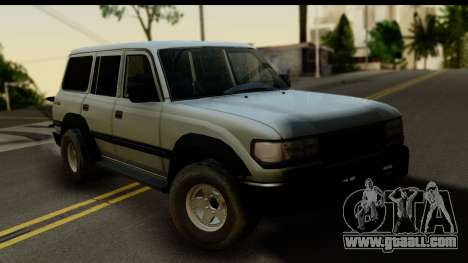 Toyota Land Cruiser 80 v1.0 for GTA San Andreas