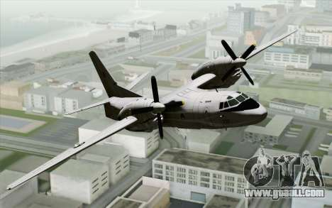 AN-32B Croatian Air Force Closed for GTA San Andreas