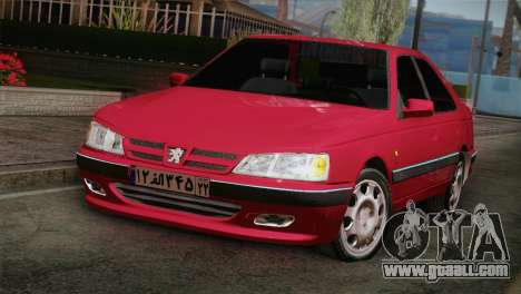 Peugeot Pars for GTA San Andreas back view