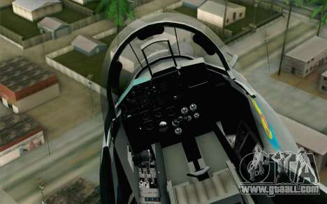 MIG-29 Polish Air Force for GTA San Andreas right view