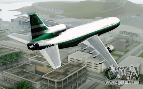 Lookheed L-1011 Cathay P for GTA San Andreas left view