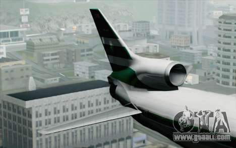 Lookheed L-1011 Cathay P for GTA San Andreas back left view
