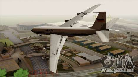 Boeing 707-300 Luftwaffe for GTA San Andreas left view