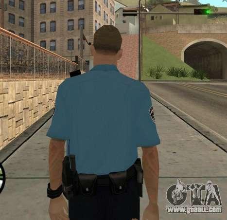 Israeli Police Officer for GTA San Andreas forth screenshot
