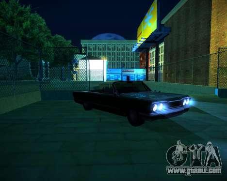 ENB GreenSeries for GTA San Andreas ninth screenshot