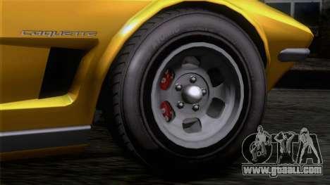 GTA 5 Invetero Coquette Classic HT IVF for GTA San Andreas back left view