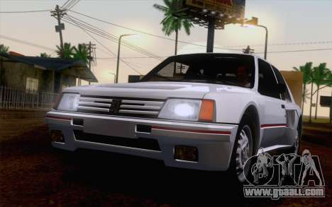 Peugeot 205 Turbo 16 1984 [IVF] for GTA San Andreas