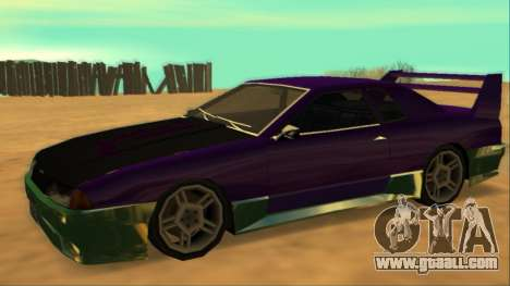 Luni Elegy FIXED for GTA San Andreas inner view