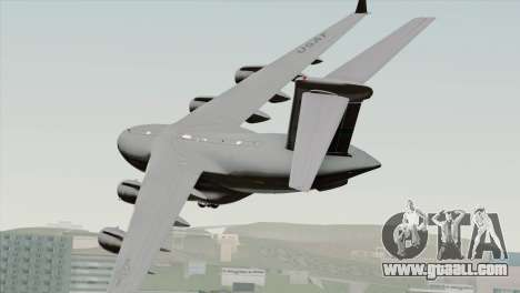 C-17A Globemaster III USAF McChord for GTA San Andreas left view