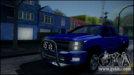 Chevrolet Silverado 1500 HD Stock for GTA San Andreas upper view