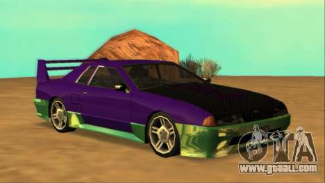 Luni Elegy FIXED for GTA San Andreas
