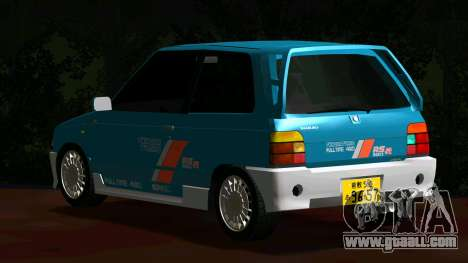 Suzuki Alto Works RS/R for GTA San Andreas back left view