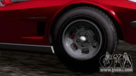 GTA 5 Invetero Coquette Classic TL IVF for GTA San Andreas back left view