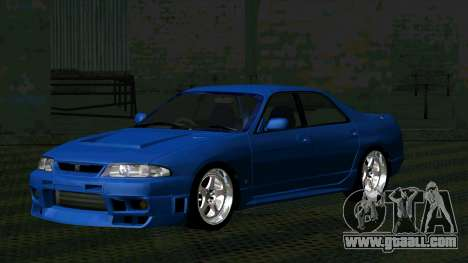 Nissan Skyline R33 4door outech for GTA San Andreas