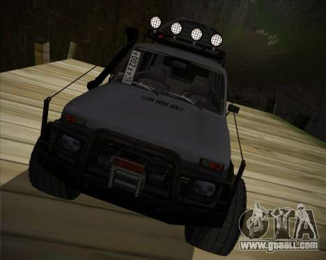 VAZ 2131 Niva 5D OffRoad for GTA San Andreas back view