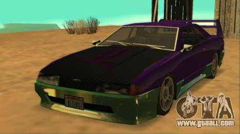 Luni Elegy FIXED for GTA San Andreas side view