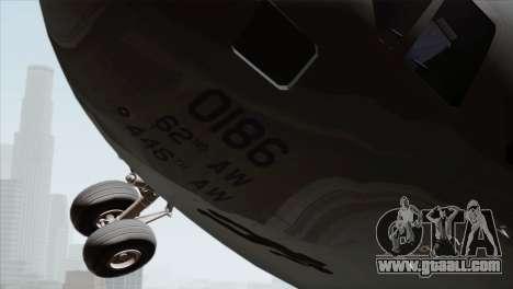 C-17A Globemaster III USAF McChord for GTA San Andreas