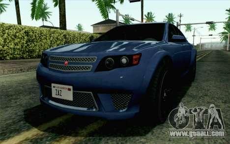 GTA 5 Cheval Fugitive HQLM for GTA San Andreas