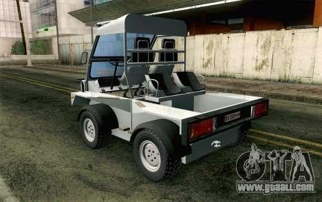 Dacia Logan MXP for GTA San Andreas left view