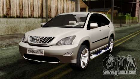 Lexus RX350 2009 for GTA San Andreas