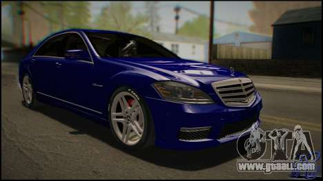 Mercedes-Benz S65 AMG 2012 Road version for GTA San Andreas left view