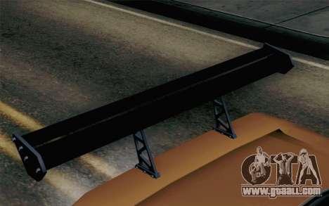 Infernus Edicte v2 for GTA San Andreas right view