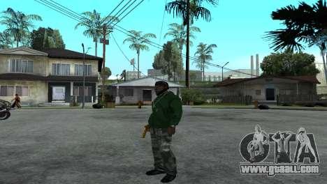 Gold Desert Eagle for GTA San Andreas forth screenshot
