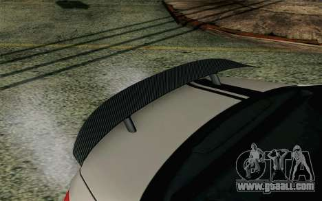 Mercedes-Benz C250 AMG Brabus Biturbo Edition EU for GTA San Andreas right view