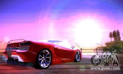 ANCG ENB v2 for GTA San Andreas