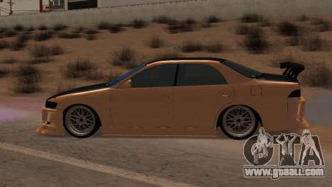 Toyota Mark II for GTA San Andreas inner view
