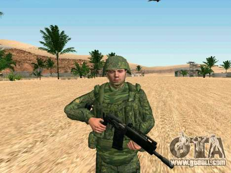 The Russian military is in a new form for GTA San Andreas forth screenshot