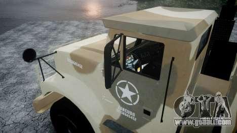 GTA 5 Barracks v2 for GTA 4 inner view