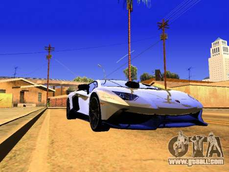 Lamborghini Aventador Novitec Torado for GTA San Andreas