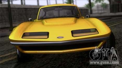 GTA 5 Invetero Coquette Classic HT IVF for GTA San Andreas