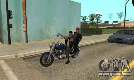 Change areas the gangs and their weapons v1.1 for GTA San Andreas ninth screenshot