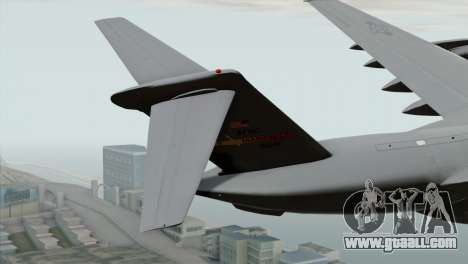 C-17A Globemaster III USAF March for GTA San Andreas back left view