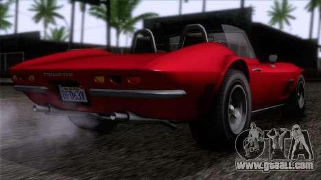 GTA 5 Invetero Coquette Classic TL IVF for GTA San Andreas left view