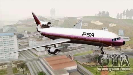 Lookheed L-1011 PSA for GTA San Andreas
