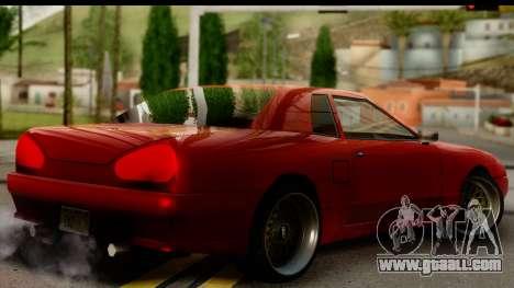 Elegy V1 for GTA San Andreas left view