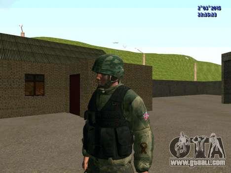 Warrior battalion East for GTA San Andreas second screenshot