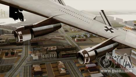 Boeing 707-300 Luftwaffe for GTA San Andreas right view