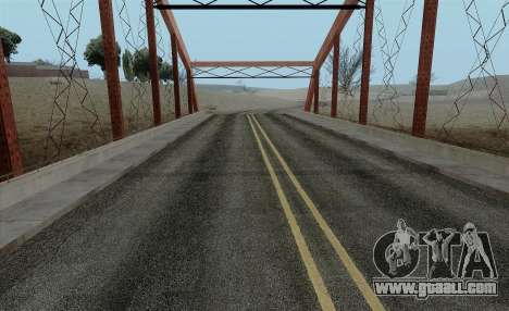 HQ Roads by Marty McFly for GTA San Andreas second screenshot