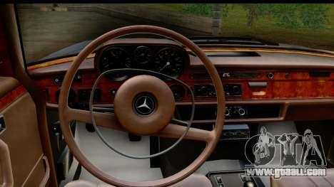 Mercedes-Benz 300 SEL 6.3 (W109) 1967 HQLM for GTA San Andreas inner view