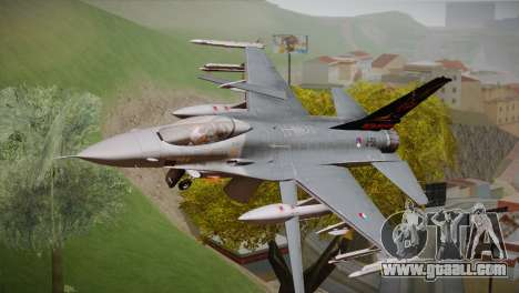 F-16 Fighting Falcon 60th Anniv. of Volkel AFB for GTA San Andreas