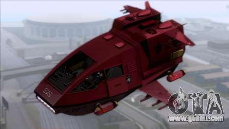Shuttle v1 (no wheels) for GTA San Andreas