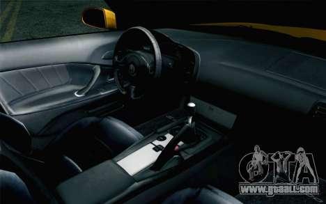 Honda S2000 Cabrio for GTA San Andreas right view