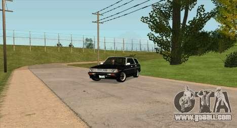 TOYOTA Mark II Wagon (GX70) for GTA San Andreas inner view