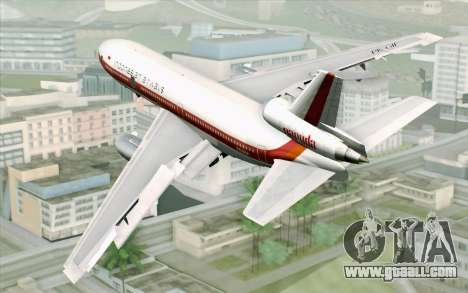DC-10-30 Garuda Indonesia Sulawesi for GTA San Andreas left view