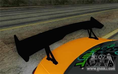 Mitsubishi Lancer Evolution X v2 for GTA San Andreas right view