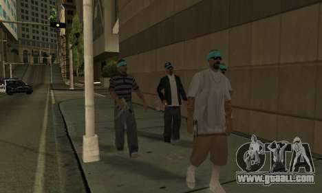 Change areas the gangs and their weapons v1.1 for GTA San Andreas sixth screenshot
